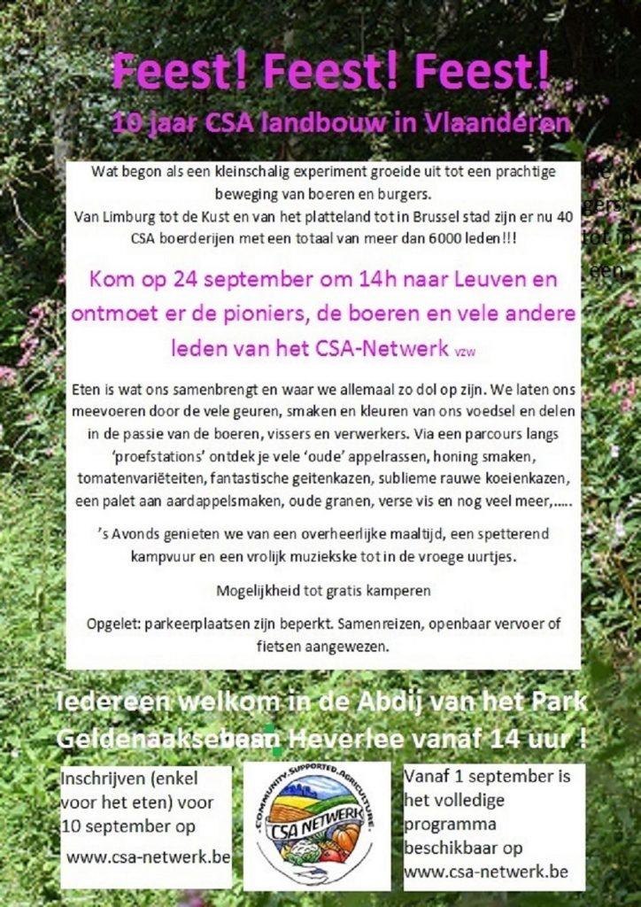 uitnodiging 10 jaar CSA
